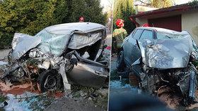 Opilec autem přelétl kruháč a přistál před kostelem: Z vozu ho museli vystříhat