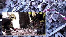 Tragédie na Přerovsku: Muže ve výkopu zavalil betonový panel, zachránit se ho nepodařilo