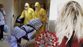 Češka s koronavirem popsala psychické peklo: Výčitky a strach o život blízkých!
