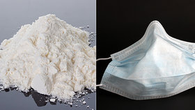 Pašeráci schovali kokain do zásilky roušek: Má hodnotu 31 milionů!