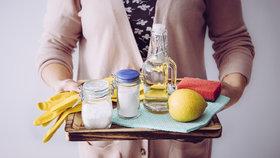 Zapomeňte na chemii a vyrobte si jednoduše domácí čističe na celý byt