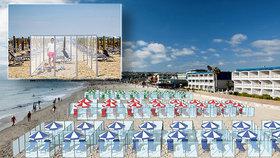 Dovolená v Itálii ve skleníku na pláži: Fantasmagorie, nebo realita?