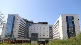 Tragédie v motolské nemocnici: Vážně nemocný pacient se zastřelil!