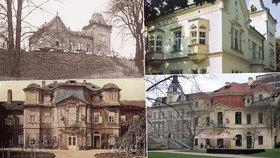 Malvazinka, Žufnička nebo Santoška: Staré smíchovské usedlosti vyzývají k procházkám