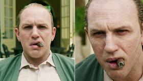 Tom Hardy se představuje jako slavný gangster: Trailer na Caponeho je tu