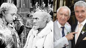 Herec Nesvadba slaví úctyhodných 95 let: Táta už netuší, co se děje! tvrdí syn Michal