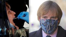 Plošné testování na koronavirus v Česku odstartuje ve středu. Koho se bude týkat?