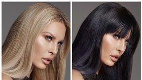 Krainová, nebo Brenda z Beverly Hills? Sexy modelka překvapila velkou změnou!