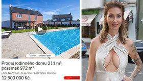 Sexbomba Mesarošová musela tento luxusní dům s bazénem prodat pod cenou! Za co miliony utratila?