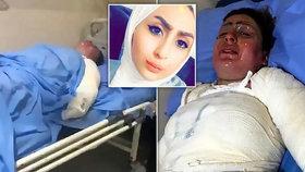 Mučivá smrt mladé Iráčanky: Manžel ji polil benzinem a zapálil
