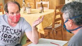 Adrian Jastraban z Ulice bez práce: Jak teď uživím rodinu, to nevím!