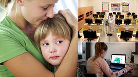 Domácí výuka: Samoživitelky nemají na počítače. Pomoc najdou na speciální mapě