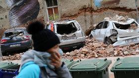 Tvrdá rána pro Chorvatsko: Březnové zemětřesení mu způsobilo škody za 153 miliard