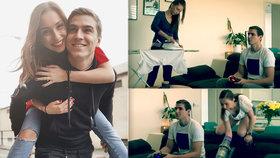 David Gránský ukázal život v karanténě: Manželka maká, on si válí šunky!
