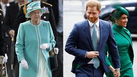 Zkažené narozeniny královny Alžběty? Meghan a Harry si pustili pusu na špacír!