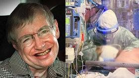 Slavný postižený fyzik Hawking zachraňuje životy i po smrti: Jeho ventilátor dál slouží nemocným