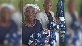 Žena porodila v 68 letech: Vždycky jsme chtěli děti, řekl manžel (77) o jejich dvojčátkách