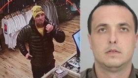 Zloděj s parťákem ve velkém kradl v pražských obchodech! Používají speciální fígl, hledá je policie