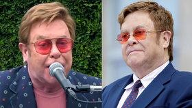 Ztráta hlasu a špatné vyslovování! Bojuje Elton John se zákeřnou nemocí?