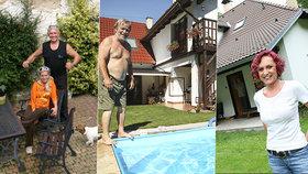 Slavní chalupáři Jirák, Bílá i Janů: Jak si na venkově žijí naše celebrity?