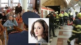 Sebevražda herečky (†39) z Pelíšků, která skočila pod metro: Dříve se vrhla z okna!