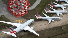 "Pandemie ""zaparkovala"" tisíce letadel. Co se s nimi v hangárech děje?"