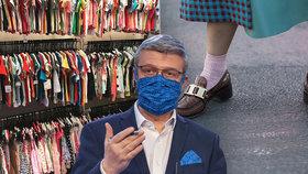 """Chaos v nákupech: Oblečení si nezkusíte, boty jen s ponožkou. A """"karanténa"""" pro knihy"""