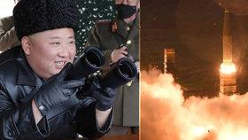 Zranila Kima raketa při testech? Vyděšené  Severokorejce nahnala nejistota do obchodů