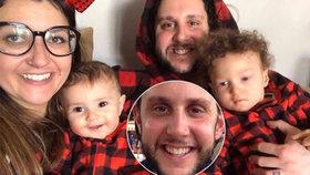 Tatínka dvojčátek zabil koronavirus: Před smrtí napsal dojemný dopis na rozloučenou