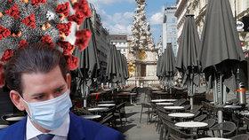 Rakušané otevřou restaurace dřív než Češi. A omezení pohybu jim skončí od pátku