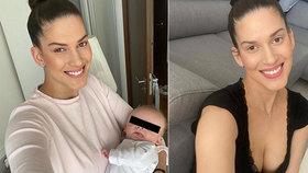 Aneta Vignerová o předčasném porodu: Císařský řez se neobešel bez následků!