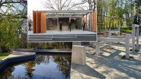 Výstaviště v novém kabátě: Sjednotí se mobiliář, přibude gastropavilon a jezírko