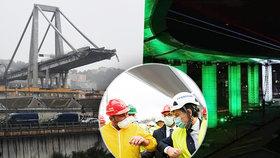 Zvony, sirény a trikolóra: V italském Janově stojí dva roky po tragédii náhrada za zřícený most