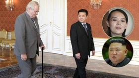 """Povede po Kimovi KLDR exvelvyslanec zPrahy? Mocný strýc může změřit síly s """"princeznou"""""""