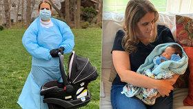 Rodiče už od prosince neviděli své novorozené děťátko: Oba se nakazili koronavirem!