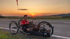 Hendikepovanému sportovci Petrovi (22) ukradli speciální kolo: Pro zloděje je bezcenné