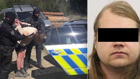 Po vrahovi z Orlickoústecka pátrali 4 dny: Policii se přiznal, že matce uřízl hlavu!