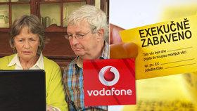 Vodafone invalidnímu důchodci hrozil exekucí. Pomohl až Blesk a peníze budou ještě vracet
