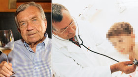 Skonal oceňovaný pediatr Milan Šamánek (†88): Poslancům doporučoval víc pít