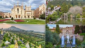 Dechberoucí zahrady z celého světa: Najdeme je v Thajsku i v Čechách