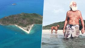 Trosečník radí, jak přežít izolaci: Na ostrově žije sám už 23 let!