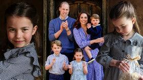 Princezna Charlotte slaví 5. narozeniny: Nové fotky berou dech!