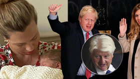 """""""Otec by byl neskonale pyšný."""" Novopečený dědeček Johnson promluvil o svém vnoučkovi"""