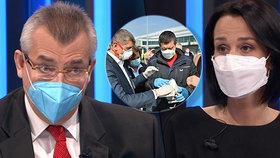Ostrá hádka o Čínu: Tvrdík čelil přesile české CNN. Odmítl střet zájmů a tasil i Černobyl