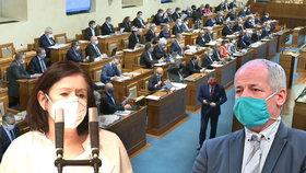 """Němcová chce po 22 letech ze Sněmovny. Strany hledají """"taháky"""" pro senátní volby. Co Prymula?"""