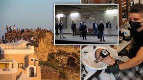 """Řecko vyhlíží turisty. Hotely otevřou v červnu, vláda má """"jízdní řád"""" i pro ostrovy"""