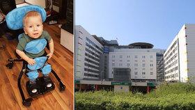 Dobré zprávy z Motola: Nemocnice objednala lék pro Maxe (22 měsíců) se SMA. Dostane ho do 14 dnů!
