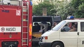 Mrtvola u Hostivařského nádraží v Praze! Z dodávky se do okolí linul hnilobný zápach