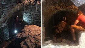 Nudil se v karanténě, tak šmejdil: Muž pod domem objevil tajemný tunel!