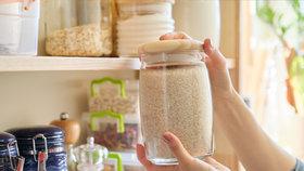 Nedejte molům a broukům šanci! Vyberte si krásné a praktické dózy na skladování potravin